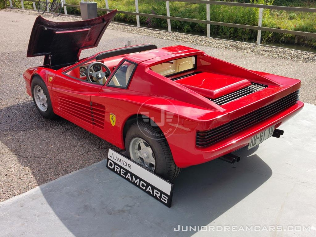 ferrari testarossa 1986 junior dream cars. Black Bedroom Furniture Sets. Home Design Ideas